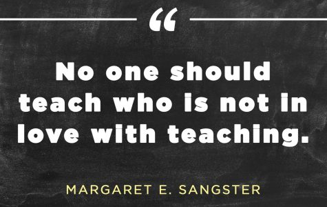 What Made Me Want to Become a Teacher