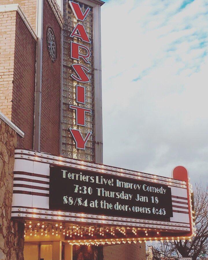 Varsity+Theatre+advertises+Terriers+Live%21