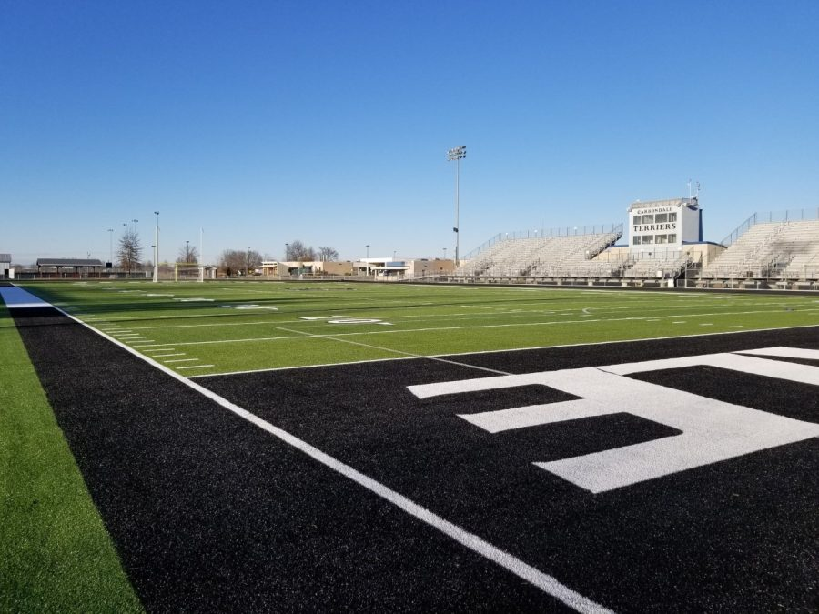 Photo+from+the+CCHS+Twitter+Soccer+page.+The+Frank+Bleyer+field+will+be+used+for+the+2021+Homecoming+dance.